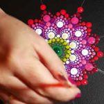 ArtMov)mandala painting